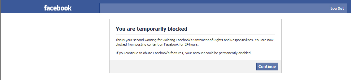 how to cancel my facebook account temporarily